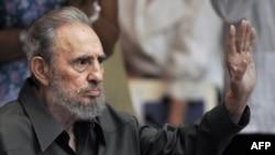 Бывший глава Кубы Фидель Кастро. Гавана, 7 августа 2010 года.