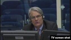Rupert Smith u sudnici 24. siječnja 2013.