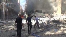 Катастрофа во Алепо, Сирија