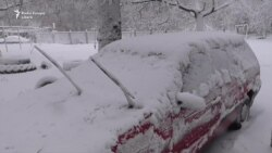 Снегопады левого берега