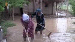 Последствия селей на юге Таджикистана