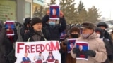 Kazakh Police Crack Down On Protests