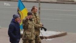 Оборонці Дебальцева відзначили роковини боїв за місто (відео)