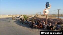 سربازان پناه برده از افغانستان به تاجیکستان