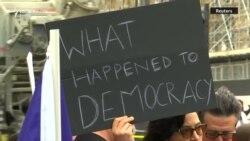 Protest u Londonu: 'Zaustavite državni udar'