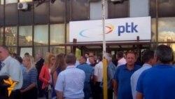 Protestojnë kundër privatizimit