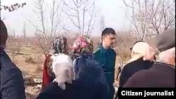 Qarshiliklar 27 - noyabr kuni o'tkazgan norozilik aksiyasi - skrinshot