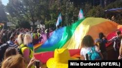 Парад ЛГБТ у Белграді, 16 вересня 2018 року