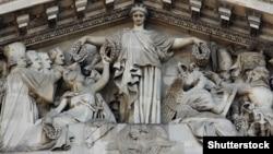 Фронтон Парижского Пантеона