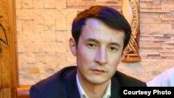 Қырғызстандық журналист Шохрух Саипов.
