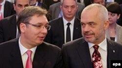 Edi Rama prilikom posete u Beogradu rekao da Srbija mora da prizna Kosovo