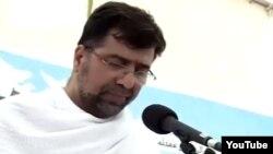 قرائت بیانیه مراسم برائت از مشرکین در سال ۹۴ توسط غضنفر رکنآبادی