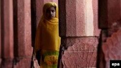 Пакистандык кыз (Иллюстрация)