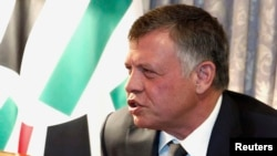 Король Иордании Абдалла II. Вашингтон, 3 февраля