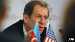 U.S. Ambassador to Azerbaijan Richard Morningstar (file photo)
