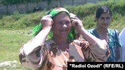 Надя, сокини шаҳри Кӯлоб
