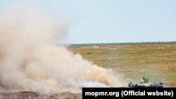 Aplicații militare ale armatei transnistrene în plină epidemie de coronavirus