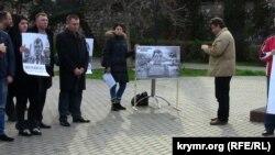 Митинг за отставку Сергея Меняйло. Севастополь, 21 марта 2015 года