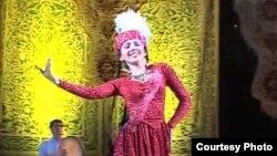 Узбекская танцовщица Шахноза Шукурова. Фото из личного архива.