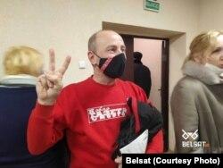 Рамуальд Улан у дзень абвяшчэньня прысуду 5 студзеня. Фота Belsat.eu
