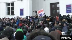 Митинг в Кемерове, 27 марта 2018 год