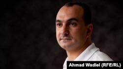Saleem Kareem Al-Abbassi, Deputy Bureau Chief, Radio Free Iraq. Photo by Ahmad Wadiei RFE/RL.