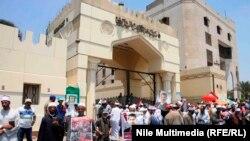 Сторонники свергнутого президента Египта Мохаммеда Мурси вновь протестуют в Каире