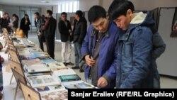 Кыргыз-түрк Манас университетинде уюштурулган өзбек маданиятынын күндөрү. 2015-жыл.