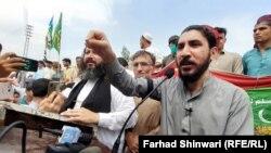 منظور پشتین، رهبر جنبش تحفظ پشتون در پاکستان