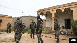 Suriyada hökumət qüvvələri