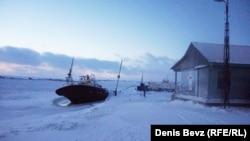 Диксон, городское поселение в Арктике.