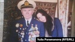 Анатолий Птицын с внучкой