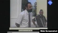 Goran Hadžić u ratno vrijeme - video snimak govora prikazan u sudnici