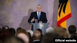German President Joachim Gauck (file photo)