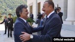 Ադրբեջան - Թուրքիայի և Ադրբեջանի նախագահներ Աբդուլա Գյուլի և Իլհամ Ալիևի հանդիպումը Գաբալայում, 15-ը օգոստոսի, 2013թ․