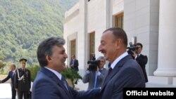 Abdulla Gül və İlham Əliyev