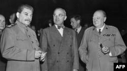 Müttəfiqlərin 1945-ci il Potsdam Konfransı Hitler pensiyalarını ləğv etməyib