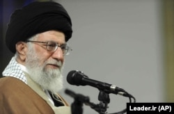 Iranian Supreme Leader Ayatollah Ali Khamenei has been in power for 29 years. (file photo)