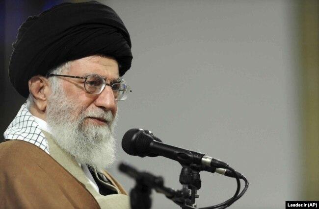 Iranian Supreme Leader Ayatollah Ali Khamenei has been in power for 29 years. (file photo)