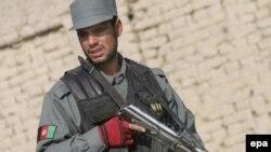 نیروهای انتظامی افغانستان در تلاشند تا خود امنیت جنوب این کشور را تامین کنند.