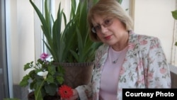 Azerbaijani human rights activist Leyla Yunus pictured in Baku back in 2006.