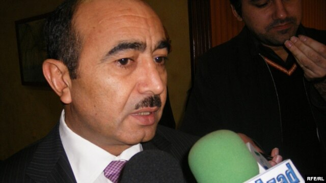Azerbaijan -- Ali Hasanov, President's Office Socio-political Department chief, Baku, 09Nov2007