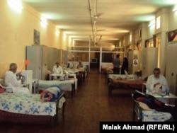 في دار رعاية المسنين ببغداد