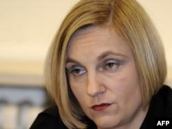 Tamara Laptoš u sudnici 3. studenog 2011.