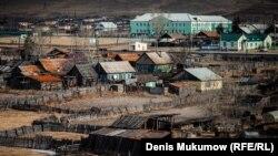 Поселок Усть-Бюр. Хакасия