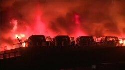 В китайском Тяньцзине произошли два взрыва в порту, погибли 44 человека