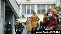 COVID-poliklinika u Beogradu