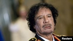 U.S. assets worth $1.5 billion held by late Libyan leader Muammar Qaddafi were returned to the country as humanitarian aid.