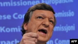 European Commission President Jose Manuel Barroso