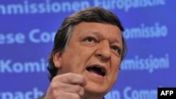 European Commission President Jose Manuel Barroso
